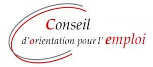 Logo du COE : Conseil d'Orientation pour l'Emploi
