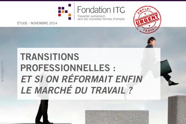 etude 204 de la Fondation ITG sur les transitions professionnelles