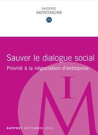 sauver le dialogue social